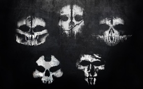 Picture drawings, team, mask, squad, Alex Johnson, Treyarch, Ajax, Ajax, Infinity Ward, Call of Duty: Ghosts, …
