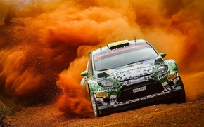 Picture Ford, Dust, S2000, Fiesta, WRC2, Yuri Protasov