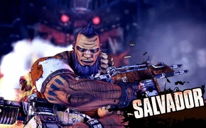 Picture character, Borderlands 2, Salvador, Salvador