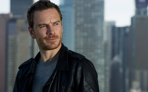 Picture the city, blur, New York, actor, photoshoot, Michael Fassbender, Michael Fassbender, Charles Sykes