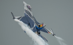 Picture weapons, the plane, Belgian F-16
