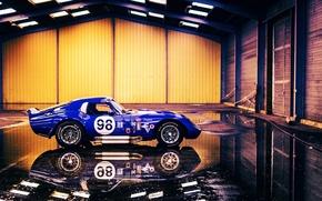 Picture reflection, CSX2300, Cobra Daytona