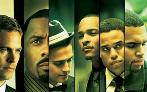 Picture the film, Los Angeles, Paul Walker, Idris Elba, the takers, Chris brown, the best, boys ...
