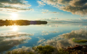 Picture landscape, sunset, Canada, Prince Edward island