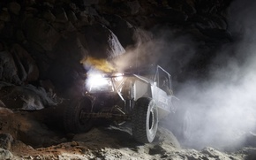 Picture night, jeep, off road, night, jeep