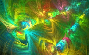 Picture abstraction, Wallpaper, patterns, figure, fractal, figure, objects, turbulence