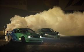 Wallpaper machine, smoke, dust, drift