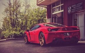 Picture Red, Ferrari, Ass, Italy, Ferrari, Red, 458, Supercar, Italia, Supercar, Read