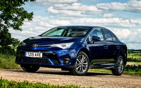 Wallpaper avensis, T270, 2015, UK-spec, Toyota, Avensis, Toyota