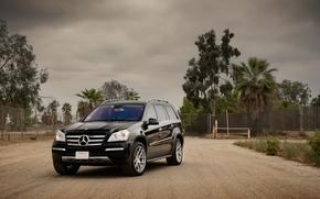 Picture black, Mercedes-Benz, Mercedes, jeep, before, black, GL550