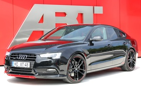Picture Audi, Black, AS5, Sportback