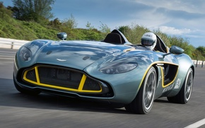 Picture machine, Aston Martin, the concept, front view, CC100, Speedster Concept