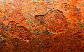 Picture metal, surface, rust, background