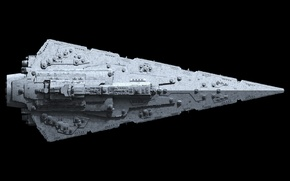 Picture star wars, destroyer, top view