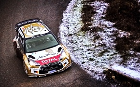 Wallpaper Machine, DS3, Rally, Citroen, Cold, Speed, WRC, Winter, Road, Sport, Citroen, Rally