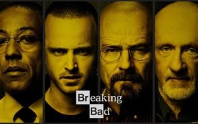 Picture the series, breaking bad, breaking bad