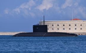 "Picture Navy, submarine, diesel, The Black Sea Fleet, access to the sea, ""Novorossiysk"", SSK"