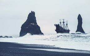 Picture sea, ocean, ship, naval, naval art, lost ship, naval action game, naval action wallpaper, pirat …