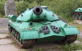 Picture Joseph Stalin, Heavy tank, The object 703, Is-3, Pike