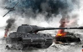Wallpaper Leo, leva, WoT, World of Tanks, World Of Tanks, Lion, German Tank, TT LVL 8