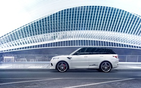 Picture Land Rover, Car, Germany, White, Side, Sport, Rover, AC Schnitzer, Range