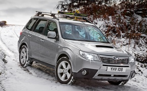 Picture Subaru, Wallpaper, Jeep, Japan, Car, Auto, Subaru, SUV, UK-Spec, Forester, Forester, snow, winter, England, Japan, …