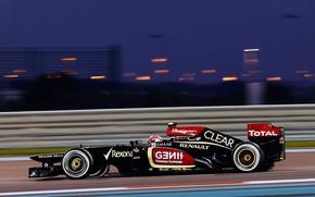 Picture Lotus, formula 1, e21, Romain Grosjean