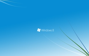 Picture windows, microsoft, blue, windows 8