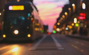 Picture lights, street, bokeh, i ♡ bokeh