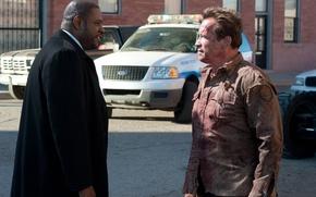Wallpaper Arnold Schwarzenegger, Agent John Bannister, Forest Whitaker, Forest Whitaker, Arnold Schwarzenegger, Return of the hero, ...