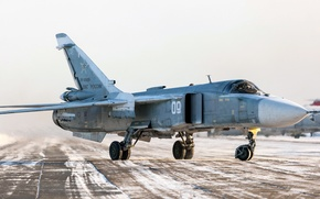 Picture the airfield, The Russian air force, Fencer, Su-24M