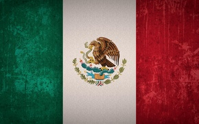 Picture flag, Mexico, the flag of Mexico