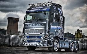 Wallpaper truck, Volvo, 6×4, Volvo, FH16