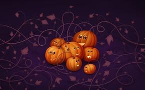 Picture pumpkin, Halloween, Halloween, whip