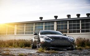 Picture black, aston martin, vantage, cars, auto, cars walls, Wallpaper HD