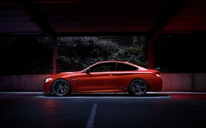 Picture BMW, German, Orange, Car, Side, Sport, Ligth, AC-Schnitzer