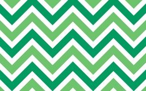 Picture background, corners, texture, green, zigzag