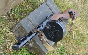 Wallpaper box, PCA, The gun, Shpagina