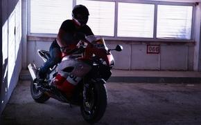 Picture Moto, motorcycle, Parking, biker, bike