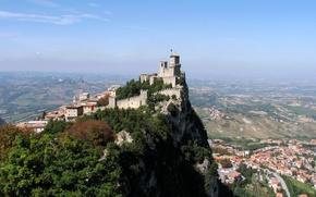 Picture city, castle, town