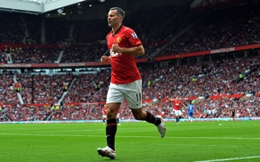 Picture Football, Manchester United, Manchester United, Football, Ryan Giggs, Stadium, Sport, Ryan Giggs