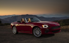 Picture Fiat, Spider, Fiat, Abarth, 124