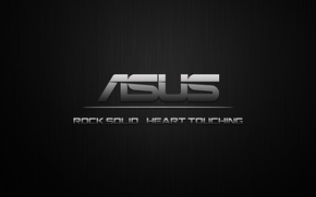Wallpaper minimal, ASUS, black, by bobakazooboy