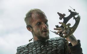 Picture crown, Vikings, The Vikings, Floki, Gustaf Skarsgård
