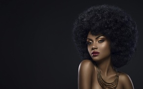 Wallpaper hairstyle, black girl, glamour, style, bronze, black beauty