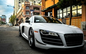 Picture the city, audi, street