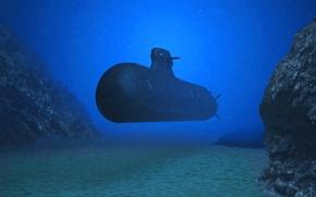 Picture boat, Sweden, underwater, diesel, A-26