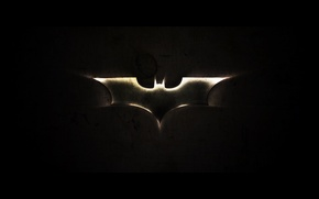 Picture batman, black, logo, Batman