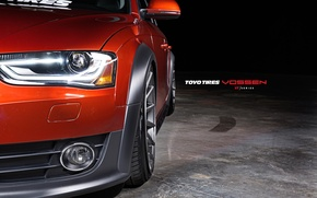 Picture Audi, Auto, Machine, optics, Auto, Vossen, Wheels
