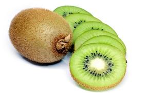 Wallpaper green, fruit, kiwi
